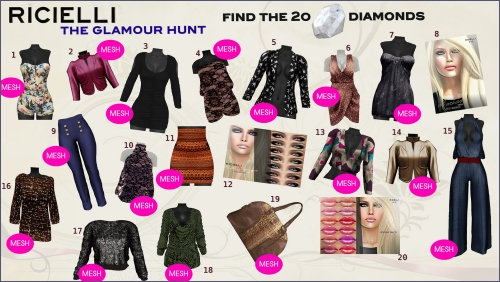 Ricielli Glamour Hunt in Second Life