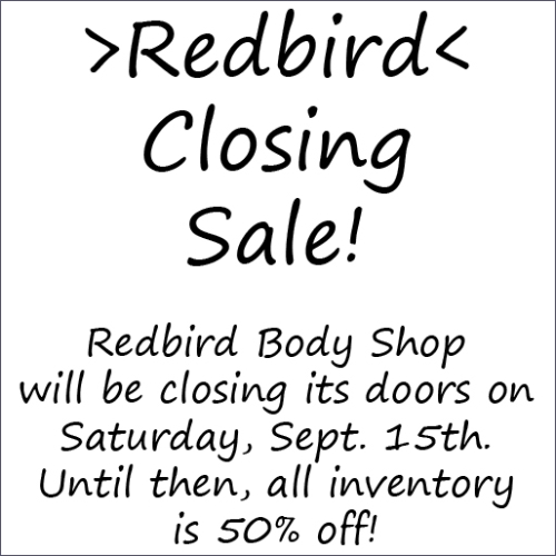 Closing Sale @ Redbird in Second Life