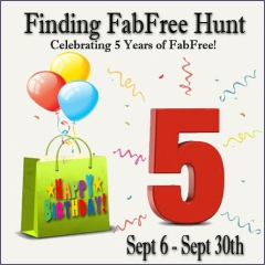 Finding FabFree Hunt in Second Life