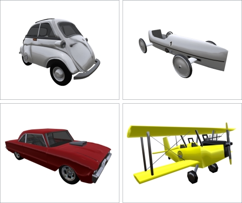 Vehicles for Free in Second Life