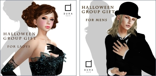 2 Hair Gifts @ Dura in Second Life