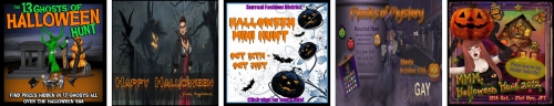 5 Halloween Hunts in Second Life