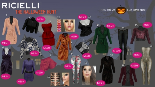 Ricielli Halloween Hunt 2 in Second Life