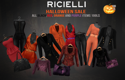 Ricielli Halloween Sale in Second Life