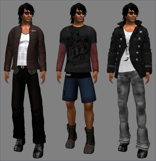 Freebies for Men in Second Life - Mr. Hunter Hunt VIII