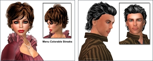 Hairstyles by Alli & Ali in Second Life