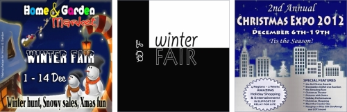Home & Garden Market Winter Fair - The 2nd Annual Winter Fair - Christmas Expo 2012