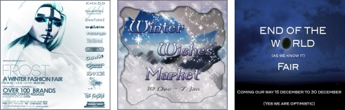 Frost: A Winter Fashion Fair - Winter Wishes Market - End of The World Fair