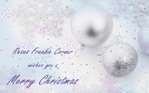 Resas Freebie Corner wishes you a Merry Christmas 2012