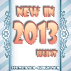 New in 2013 Hunt in Second Life
