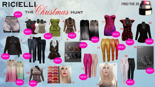 Ricielli Christmas Hunt in Second Life