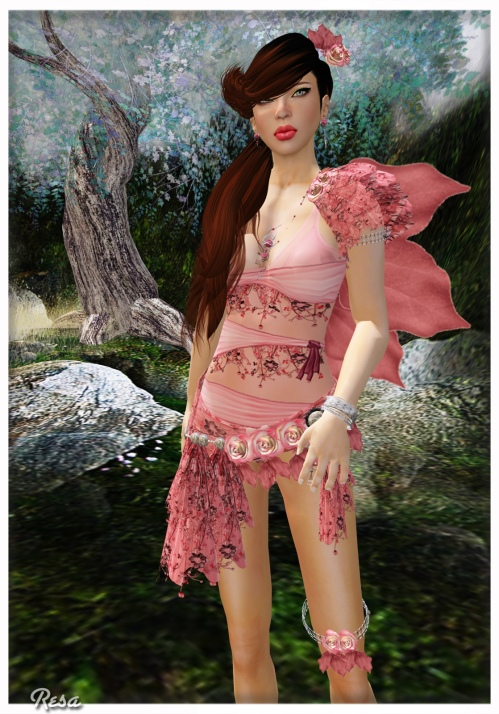 Angelwing, Essences & Rumina in Second Life