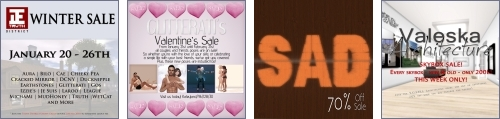 4 Sales in Second Life