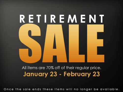 Retirement Sale @ Elikatira in Second Life