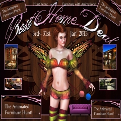 The Animated Furniture Hunt in Second Life