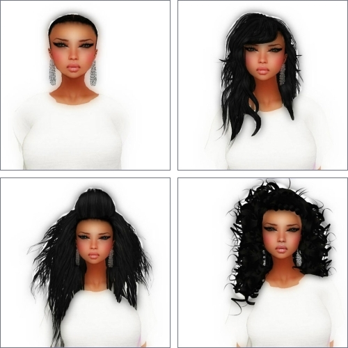 Hair by Unique Trends in Second Life
