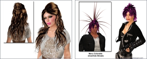 Free Hairstyles in Second Life