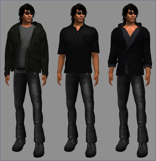 Freebies for Men in Second Life (German Newbie Center)