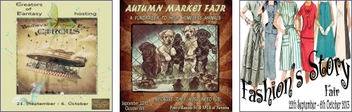 Medieval Fantasy Fair II - Autumn Market Fair - Fashion's Story Fair