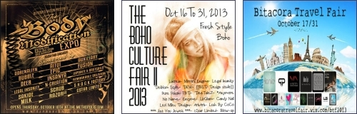 The Body Modification Expo - The Boho Culture Fair II - Bitacora Travel Fair