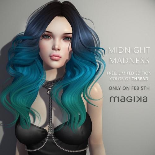 Midnight Madness - Magika Hair
